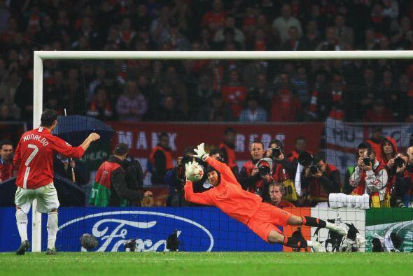 CR7 también tuvo un mal trago cuando jugaba en el Manchester United. En...