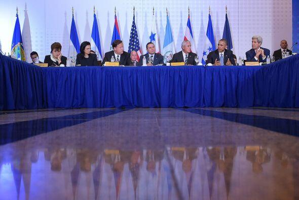 El encuentro de los miembros del Sistema de Integración Centroamericana...