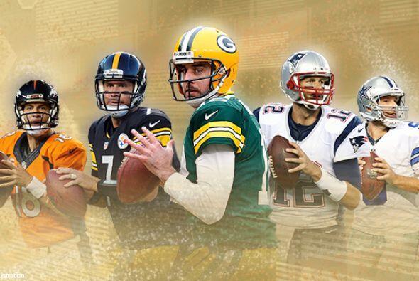 En lo que esperamos la clasificación de los 10 mejores quarterbacks en l...