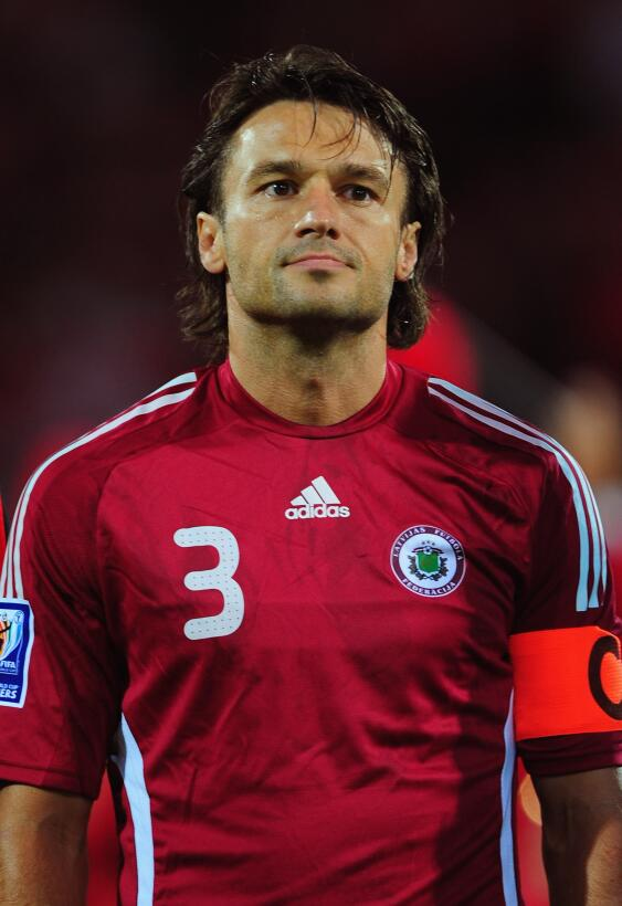 8. Vitalijs Astafjevs (Letonia) - 168 partidos