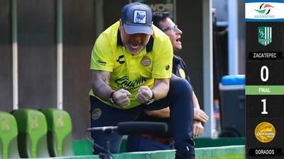 Dorados venció a Zacatepec y se puso momentaneamente en zona de liguilla