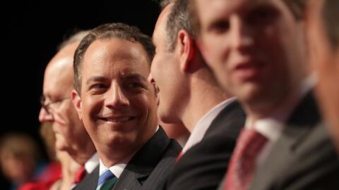 Reince Priebus, Rudy Giuliani y Chris Christie son algunos de los nombre...