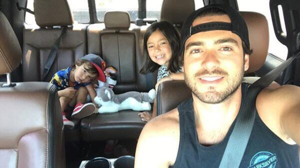 Pablo Lyle y sus hijos