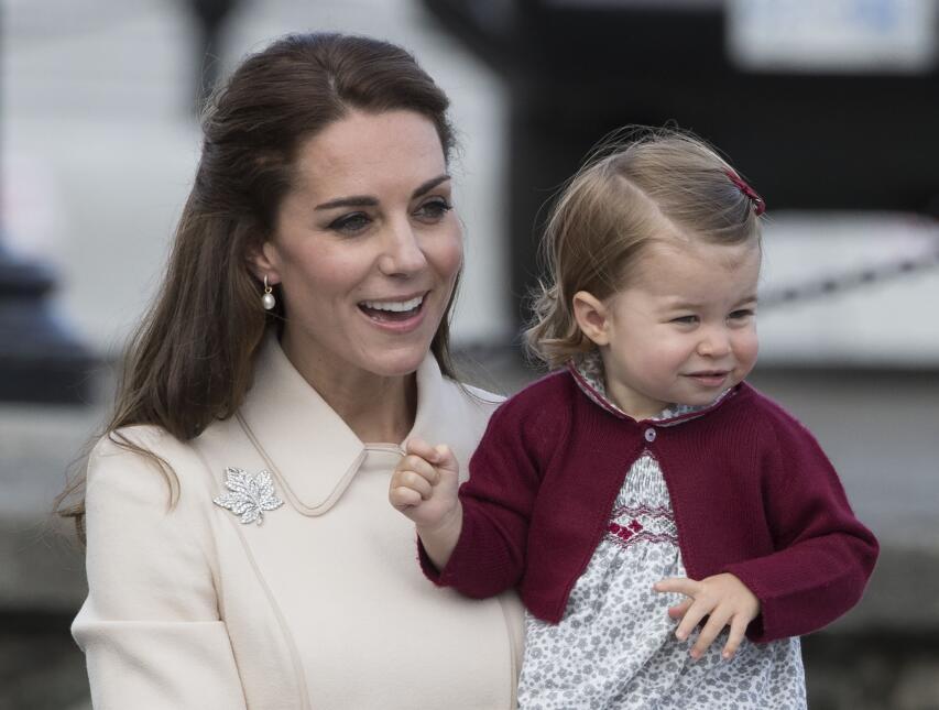 Mira cómo ha crecido la princesa Charlotte con esta foto que le tomó su...