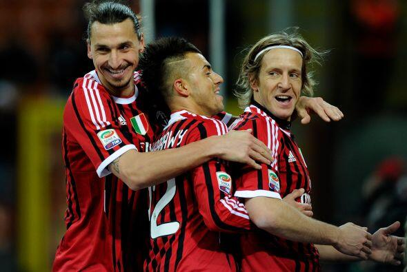 Un plantel basto de figuras como Ibrahimovic, Robinho, Seedorf o Thiago...