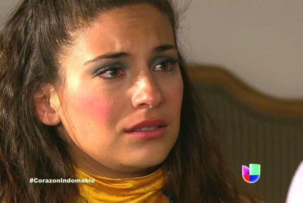 Y Lucía le puso la primera trampa consiguiéndole el peor v...
