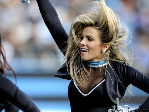 Las porristas de los Carolina Panthers tuvieron su última activid...