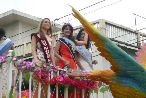La Reina de belleza de Durán representaba a la provincia ecuatori...