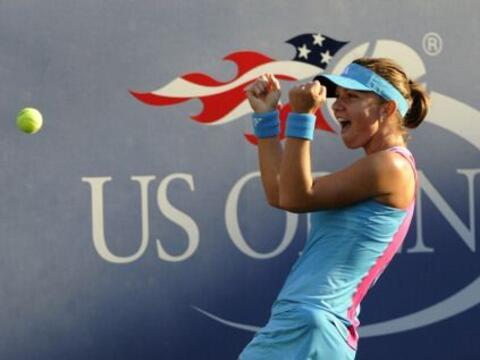 En el segundo día del US Open, la rumana Simona Halep dio la sorp...