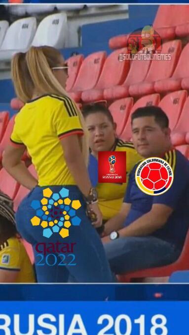 Los memes le dan con todo a Argentina y Colombia en las Eliminatorias de...