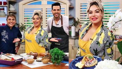 Chiquis Rivera nos preparó tacos de camarón y tacos de carnitas al tequila y limón