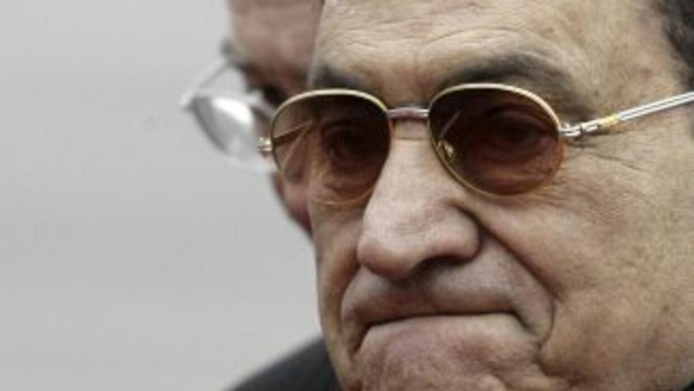 Hosni Mubarak fue nombrado vicepresidente de Egipto en 1975. En 1981, tr...