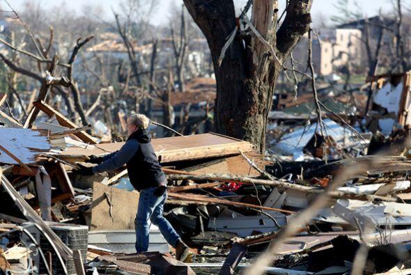 Tornados en Oklahoma Los devastadores tornados que azotaron a Texas deja...