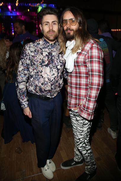 Jared Leto con el rockero Davey Havok.  Mira aquí los videos m&aa...