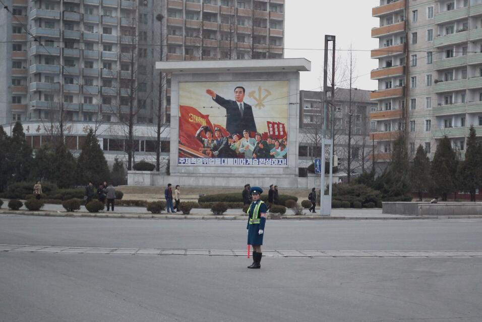 La visita sin precedentes de la hermana del líder norcoreano Kim Jong Un...