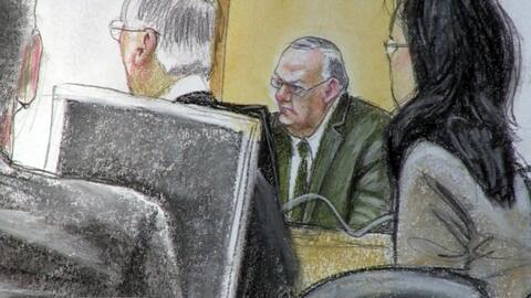 Joe Arpaio court sketch, June 26, 2017