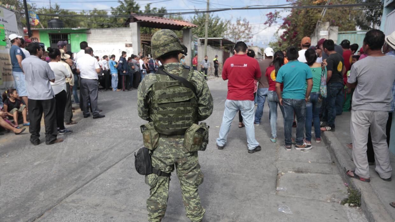 Seguridad tras el crimen de la alcaldesa en Temixco.