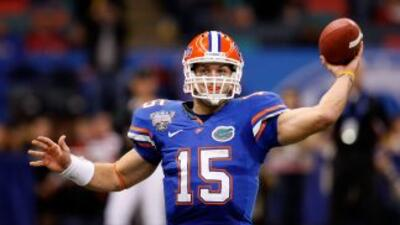 Tim Tebow destacó en la Universidad de Florida.