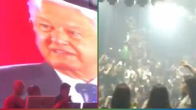 Antro prende el ambiente con discurso de AMLO y 'Gasolina' de Daddy Yankee