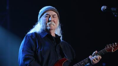 SYRACUSE, NY - OCTOBER 09: David Crosby performs onstage at the One Worl...