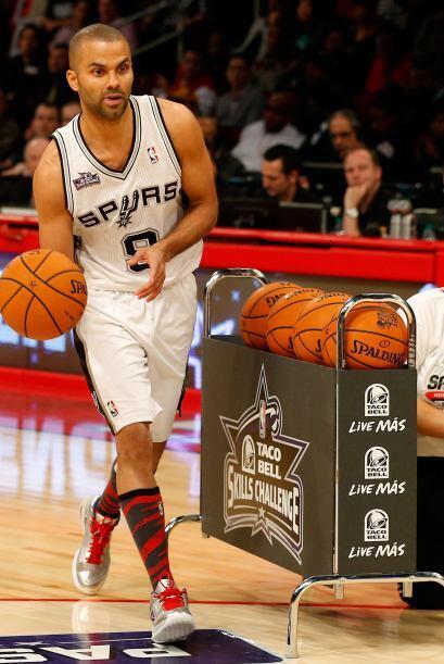Tony Parker de los San Antonio Spurs y ex esposo de Eva Longoria.