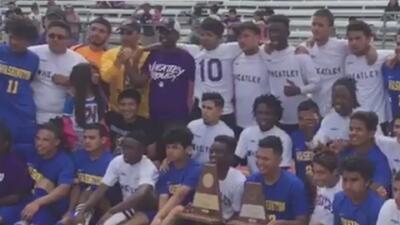 Equipo de fútbol de preparatoria de Houston no podrá participar en campeonato estatal