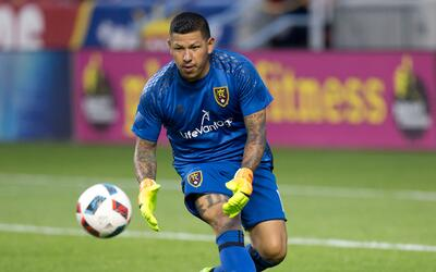 Nick Rimando, portero récord dentro de la Major League Soccer.
