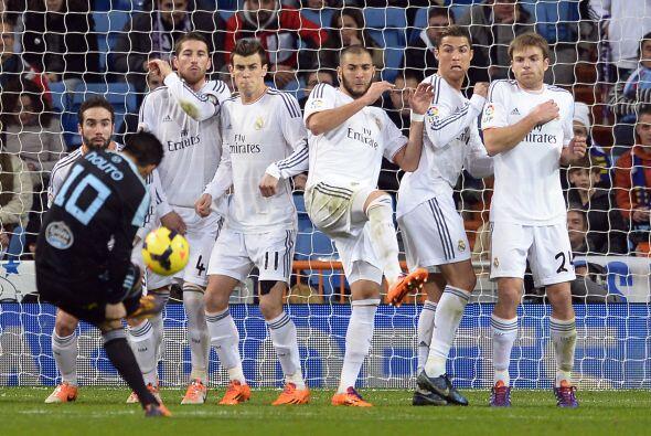 El Celta aún dio avisos de que podía dar de qué hablar en el Bernabéu, p...