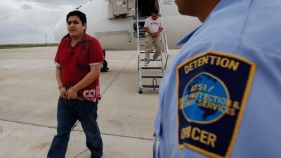 Inmigrantes deportados en 2010
