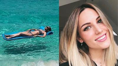 Flotando sobre el mar y más sorpresas de Edurne García, la novia de David De Gea