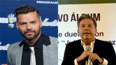 Ricky Martin y Ricardo Montaner.