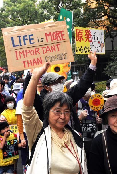 La fusión nuclear en la planta de Tokyo Electric Power (Tepco) en Fukush...