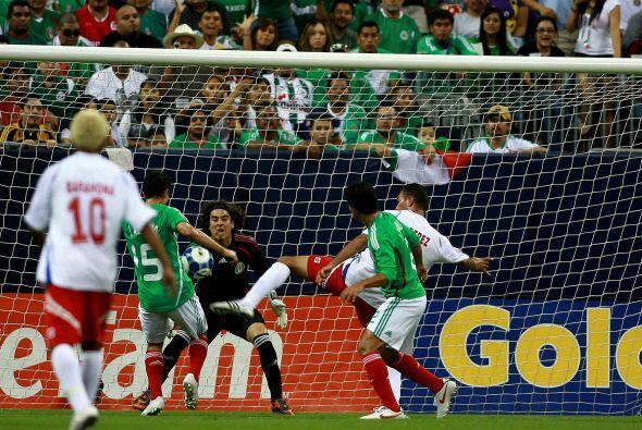 El 9 de julio de 2009 México y Panamá se encontraron en el Reliant Stadi...