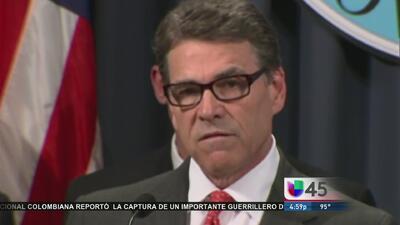 Rick Perry quiere militares en la frontera
