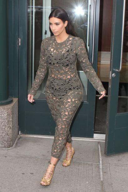 Pero aún así Kim se sentía muy orgullosa de su imag...