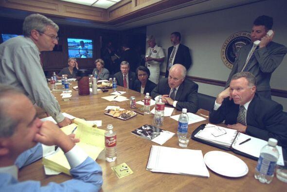 Se alistan para una reunión más. (Imagen del Archivo Nacional de EEUU).