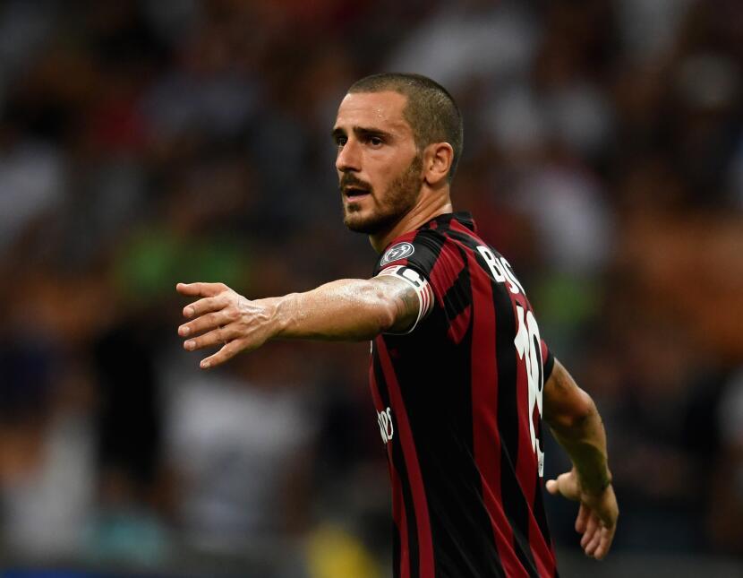 23. Leonardo Bonucci (A.C. Milan) - Puntaje: 88