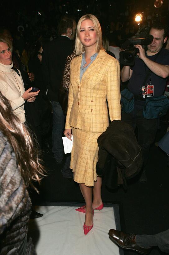 Ivanka Trump en Fashion Week