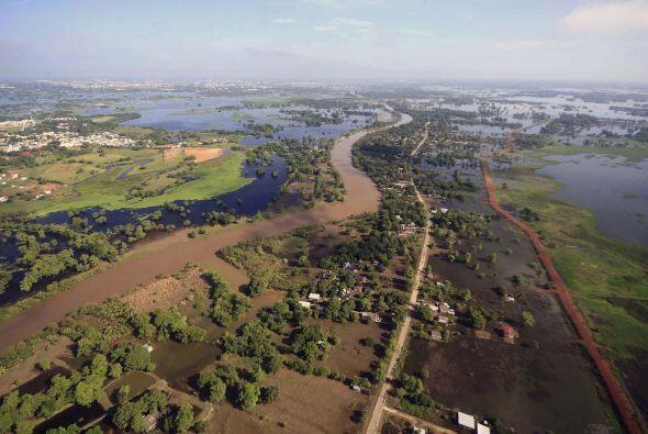 Las aguas del Golfo de México podrían cubrir el territorio especialmente...
