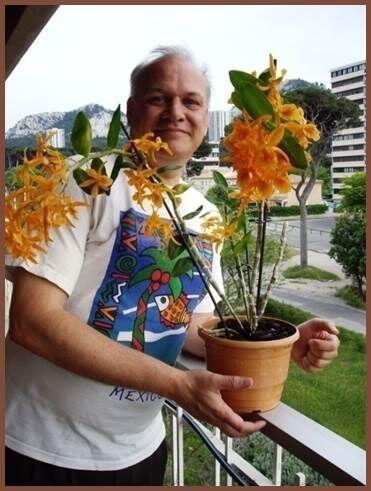 Sus amigos cuentan que tenía una gran pasión por las orquídeas. (Imagen...
