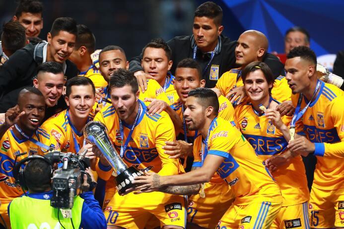 En fotos: Las mejores imágenes de la celebración de Tigres gettyimages-8...