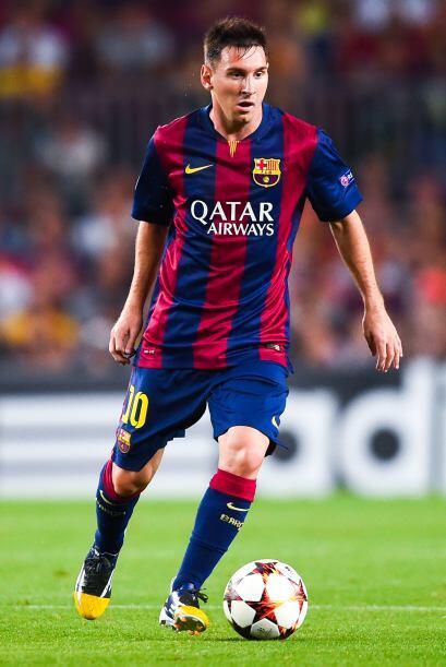 En la presente UEFA Champions League Messi es el líder anotador con ocho...