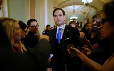 El senador Marco Rubio en una imagen de archivo.
