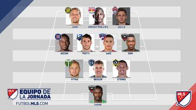 Equipo de la Jornada 33 de la MLS
