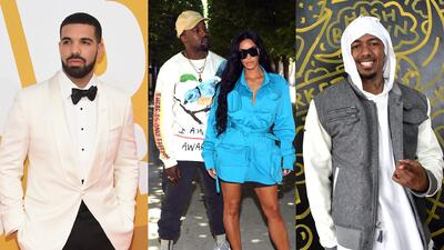 Kanye West explota contra Drake y Nick Cannon por meterse supuestamente con su esposa, Kim Kardashian