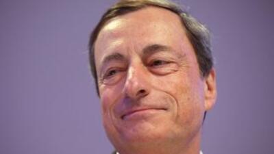 El presidente del Banco Central Europeo (BCE), Mario Draghi.