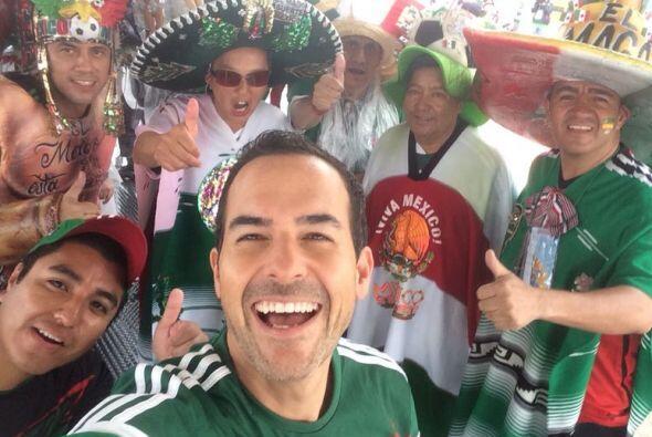 Carlos Calderón fue el primero en llegar al estadio