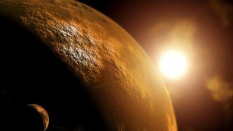 Una sorprendente imagen de Marte.
