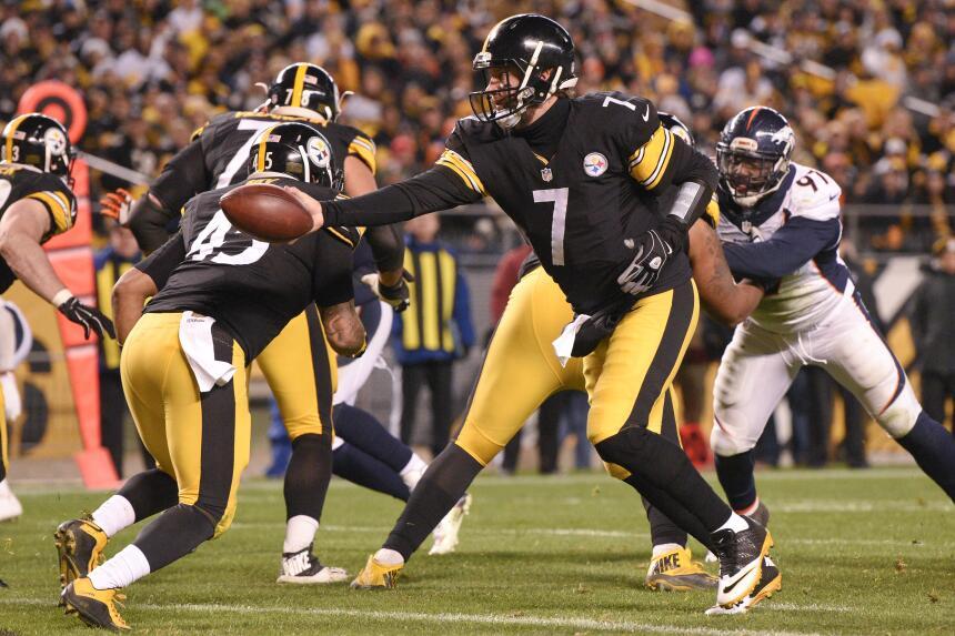 Los Pittsburgh Steelers se recuperaron de desventaja de 17 puntos para v...