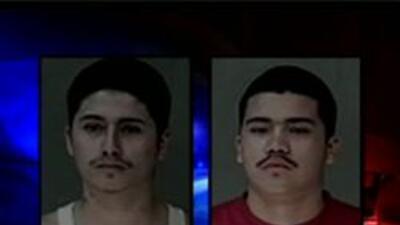 Los dos sospechosos arrestados Angel y Michael Torres